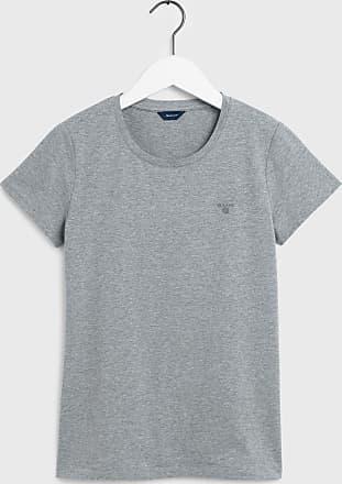 Ulla Popken T-shirt Druckshirt Grau