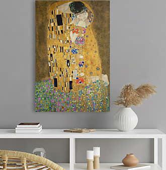 Reinders home24 Tableau déco Le baiser Klimt