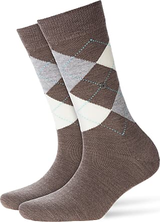 Burlington Womens Marylebone Socks Navy Melange//Green//Grey