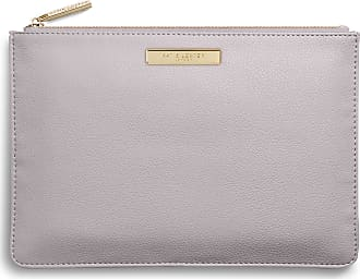 Katie Loxton Womens Medium Soft Pebble Vegan Leather Clutch Perfect Pouch Lilac