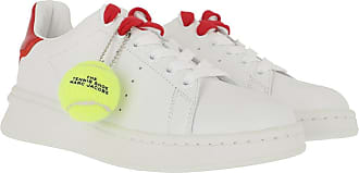 Marc Jacobs Sneakers - The Tennis Shoe Sneakers White/Red - white - Sneakers for ladies