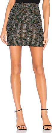 X by NBD Marina Embellished Skirt in Green