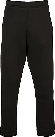 032c red stripe sweatpants - Black