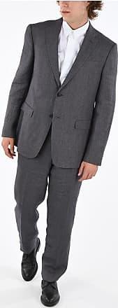 Ermenegildo Zegna Z Flax Side vents 2-Button Suit size 54