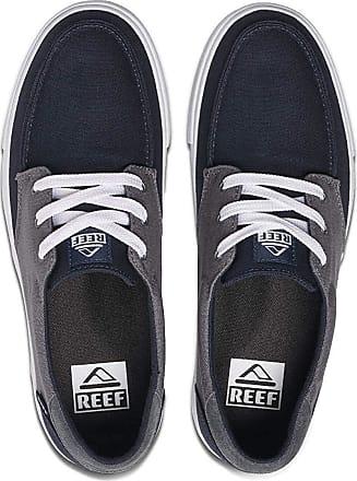 Reef Mens Deckhand 3 Sneaker, Grey Blue/Navy, 10.5 UK