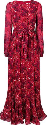 Borgo De Nor Dianora leopard print dress - Vermelho