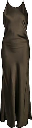 Rosetta Getty Vestido com alças posteriores cruzadas - Verde