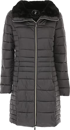 Save The Duck Womens Coat On Sale, Dark Anthracite Grey, polyester, 2017, 10 12 8