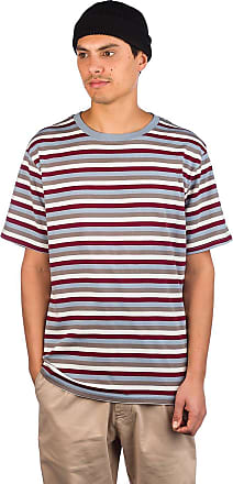 Zine Bonus Stripe T-Shirt maro