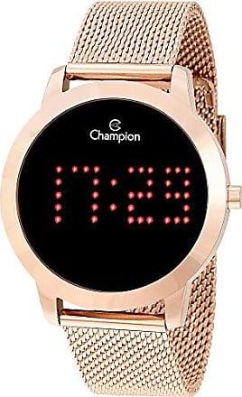 Champion Relógio Champion Feminino Ref: Ch40017p Digital LED Rosé