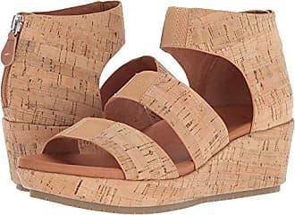 17e3d5f321f Gentle Souls by Kenneth Cole Womens Milena Triple Stretch Strap Platform  Sandal Sandal