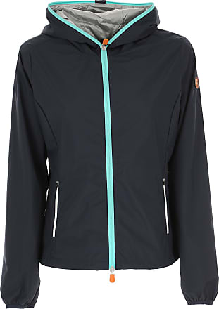 Save The Duck Jacket for Women On Sale, Dark Ink Blue, polyester, 2017, XS (IT 38)
