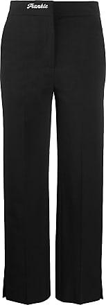 Frankie Morello Calça de alfaiataria cintura alta - Preto
