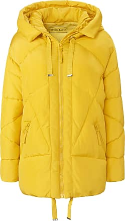 White Label Quilted jacket in oversized style White Label yellow
