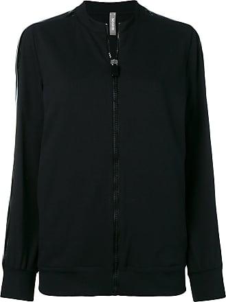 No Ka'Oi tape sleeve track jacket - Black