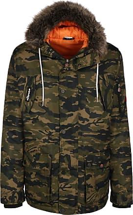 Ellesse Blizzard Mens Camo Parka Jacket L
