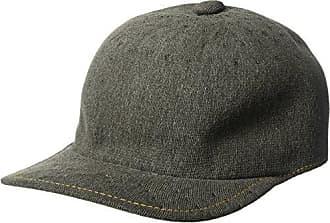d2df6554b5aac0 Kangol Mens Indigo Adjustable Spacecap Baseball Cap, Black wash, 1SFM
