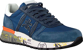 Premiata Blaue Premiata Sneaker Low Lander