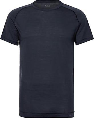 Falke Ergonomic Sport System Wool And Silk-blend Jersey T-shirt - Blue