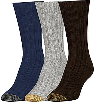 Gold Toe Womens Weekender Socks, 3 Pairs, cabernet/light grey heather/midnight, Shoe Size: 6-9
