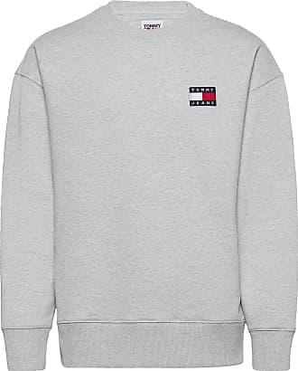 Tommy Jeans Herren TJM Melange Tommy Crew Sweatshirt