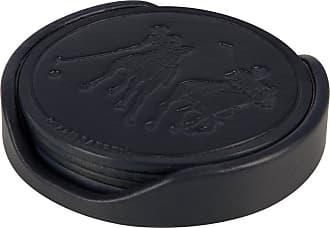 Ralph Lauren Home Garrett Coasters - Set of 4 - Navy