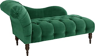 Skyline Furniture Chaise Lounge in Regal (Regal Mahogany Rose)