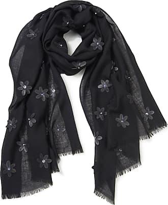 Anna Aura Woven scarf Anna Aura black