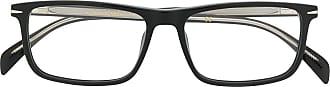 David Beckham Armação de óculos quadrada DB 1019 - Preto