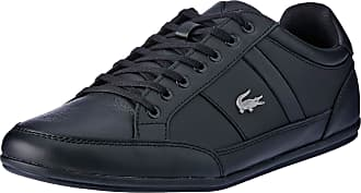 Lacoste Mens Chaymon BL 1 CMA Low-Top Sneakers, Black (Black/Black 02h), 9.5 UK