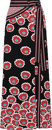 0810f6700c548 Diane Von Fürstenberg Diane Von Furstenberg Woman Taylor Floral-print Crepe  De Chine Maxi Wrap