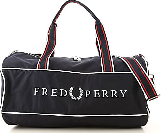 Fred Perry Gym Bag Sports for Men On Sale, Dark Navy Blue, Fabric, 2017, one size