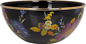 MacKenzie-Childs Flower Market Everyday Bowl - Black - Small