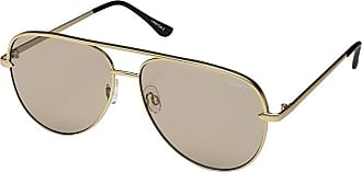 Quay Eyeware Sahara QUAYXDESI (Gold/Taupe) Fashion Sunglasses