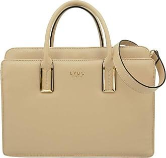 53edd13df2d9 LYDC London Adjustable Shoulder Straps Tote Bag in Pure Elegant LYDC London  Zip Pockets in Large