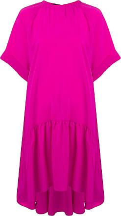 Rochas oversized fit dress - Pink