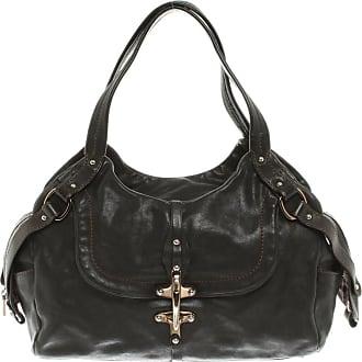 Fay gebraucht - Fay-Handtasche aus Leder in Schwarz - Damen - Leder