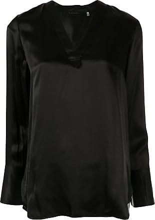 Elie Tahari Blaze longline tunic blouse - Black
