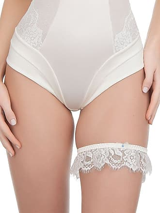 Ultimo New Eternità Collection Bridal Garter - Ivory ONE
