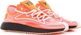Yohji Yamamoto Sneaker für Herren, Tennisschuh, Turnschuh Günstig im Sale, Fluo Orange, Gewebe, 2019, 41 42.5 44 44.5 45