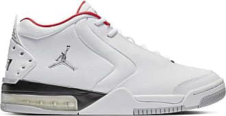 Nike Jordan Mens Big Fund Fitness Shoes, White (White/Metallic Silver/Black 000), 12 UK