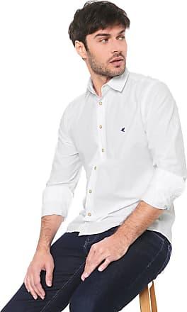 Malwee Camisa Malwee Slim Básica Branca