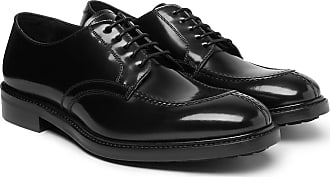 Paul Smith Andrew Polished-leather Derby Shoes - Black