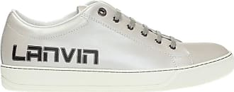 Lanvin Branded Sneakers Mens Silver