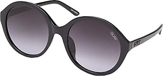 Quay Eyeware QUAYxBenefit Tinted Love (Black/Smoke Fade) Fashion Sunglasses