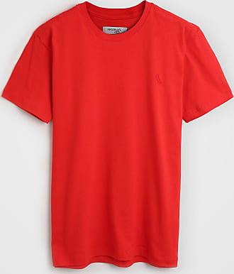 Reserva Mini Camiseta Reserva Mini Infantil Lisa Vermelha