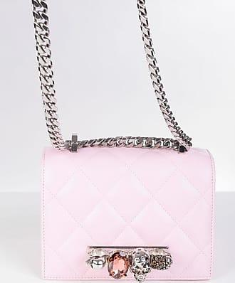 Alexander McQueen Quilted Leather FOUR RING shoulder bag Größe Unica