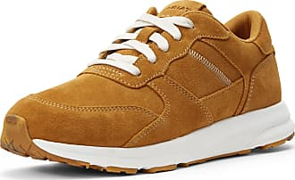 Ariat Womens Fuse Plus Sneakers Shoes in Butterscotch Leather, B Medium Width, Size 3.5, by Ariat