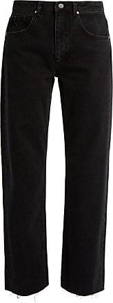 Raey Press Straight-leg Jeans - Womens - Black