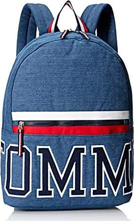 f33e0af7 Tommy Hilfiger Womens Backpack Patriot Colorblock Canvas, Indigo